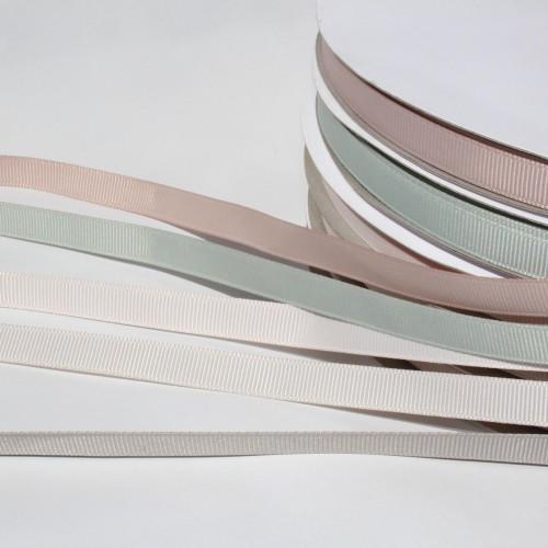 Ripsband helles rosé puderfarben 9mm