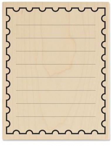 Stempel Rahmen Lineatur Briefpapier