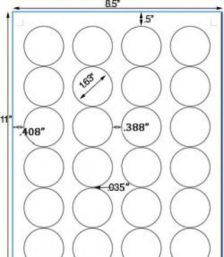 Bogen Kraftpapier Label 24 Stk rund braun