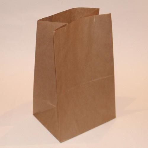 10 Stk grosse Papierbeutel Kraftpapier