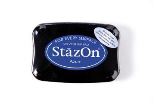 Permanent Stempelkissen StazOn Azure blau