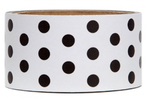 Black Dots Tape Packband Klebeband