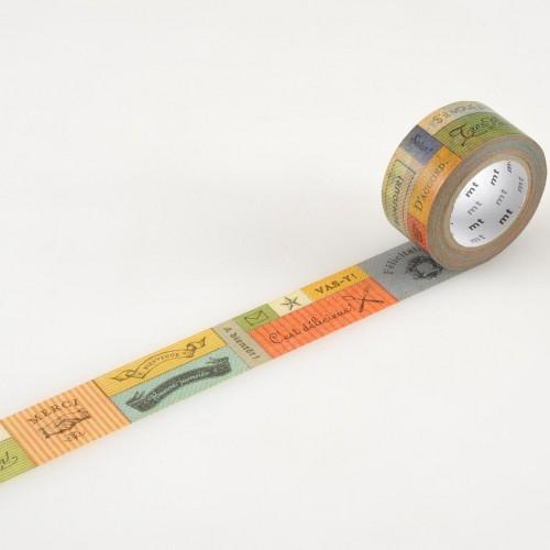 Masking Tape message