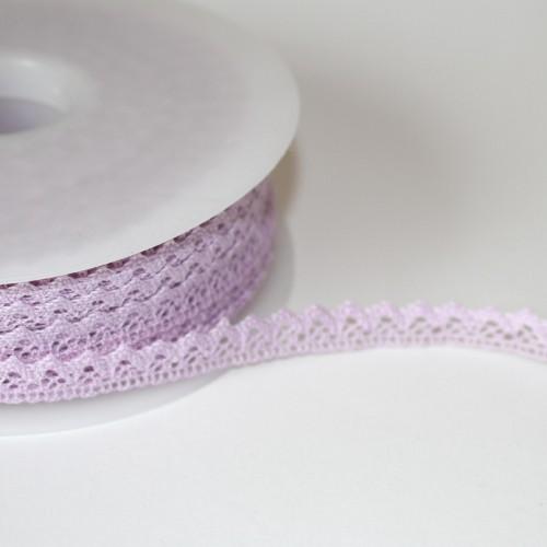 Spitzenband hell-lila 10mm flieder