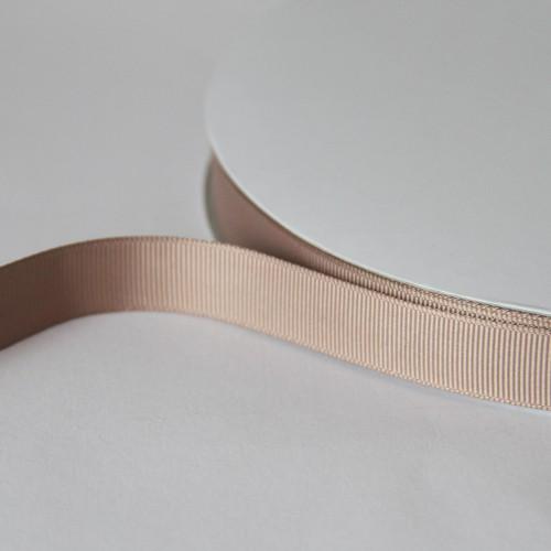 Ripsband TAUPE 15mm