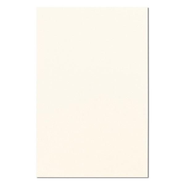 5 Einlegekarten für Clutch DL ivory gerippt