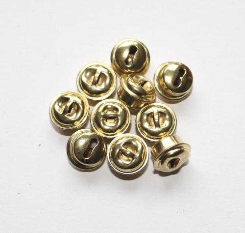 Goldschellen Glöckchen XS 8mm 10 Stk
