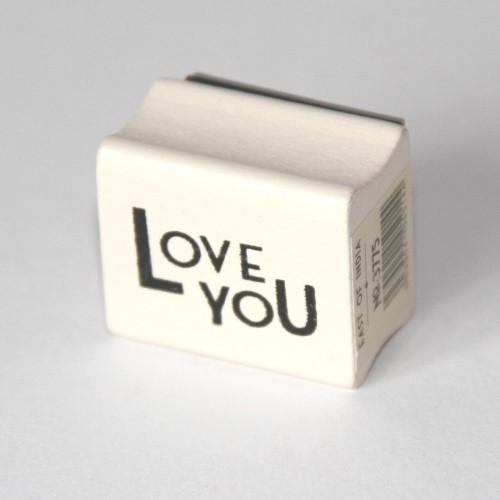 kleiner Stempel LOVE YOU