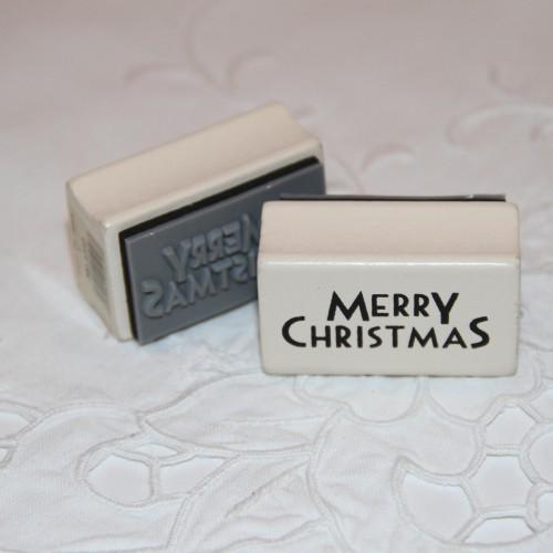 kleiner Stempel Merry Christmas