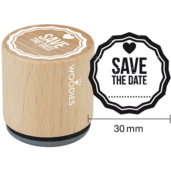 kleiner Stempel SAVE THE DATE