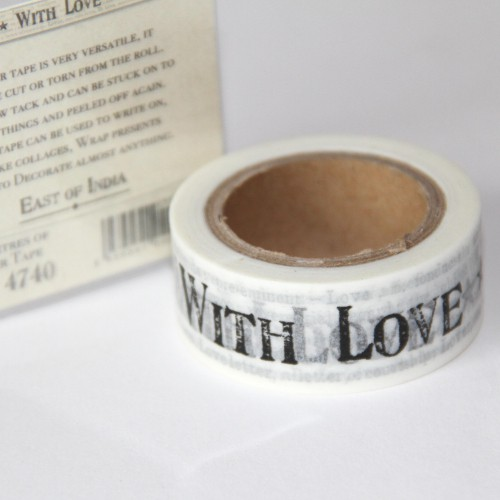 Masking Tape with love Hochzeit