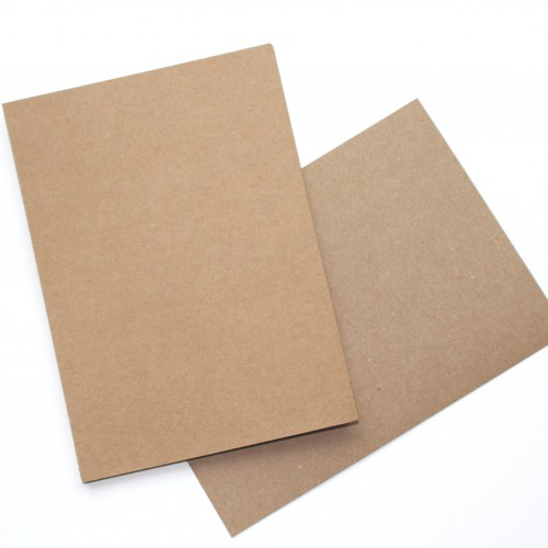 20 Stk. Karten Kraft 13x18cm