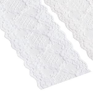 weisse Spitze 75mm Polyester