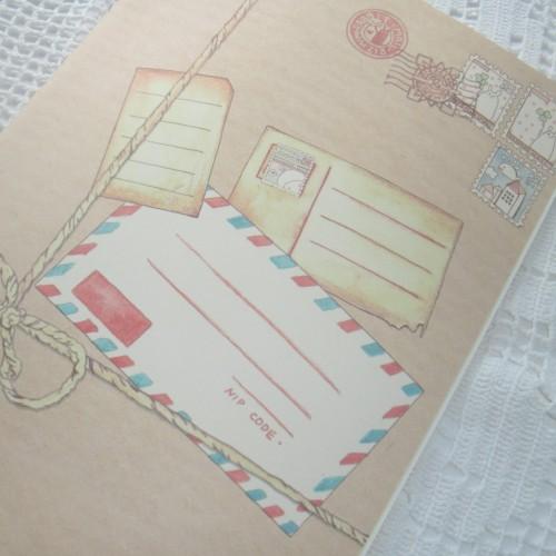 Schreibheft vintage Paket