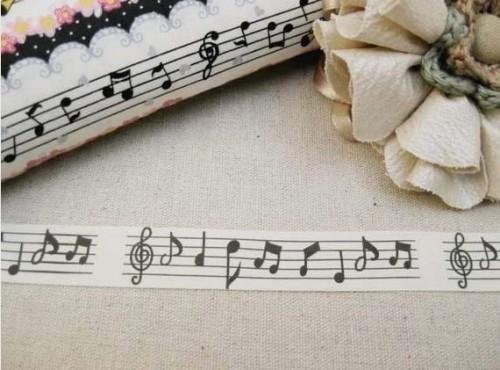 Dekoband Noten Musik