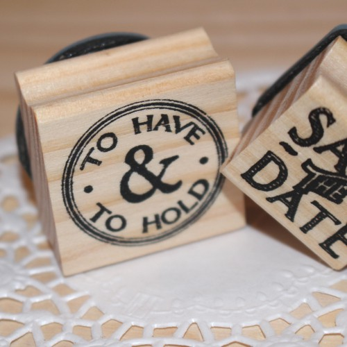 kleiner Stempel TO HAVE & TO HOLD