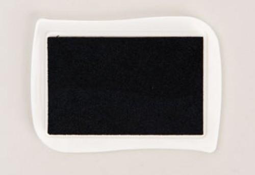 Textil Stempelkissen schwarz