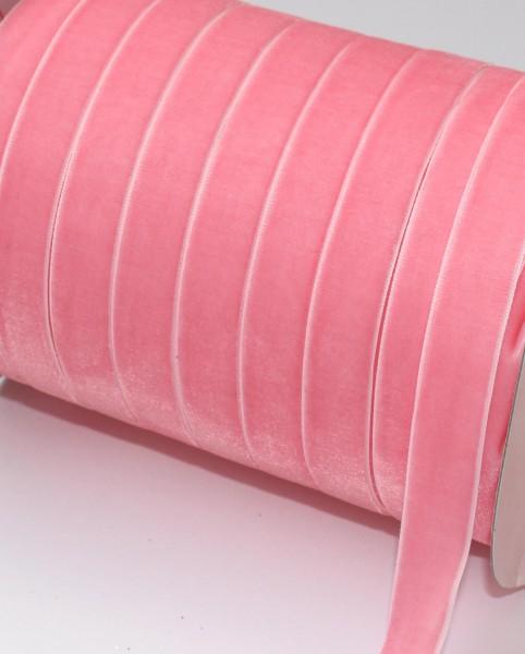 rosa Samtband 15mm