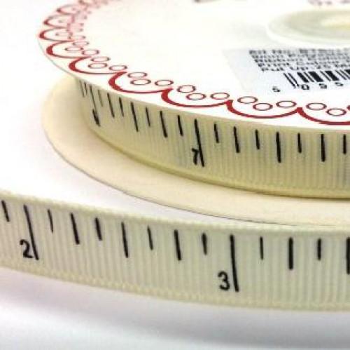 Massband inch-Mass creme Ripsband Meterware