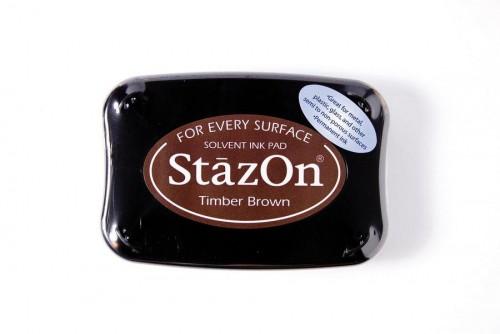 Permanent Stempelkissen StazOn braun