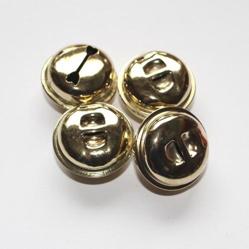 Goldschellen Glöckchen XXL 27mm 4 Stk