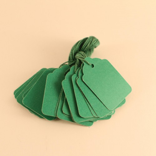 kleine Preisschilder 20 Stk grün