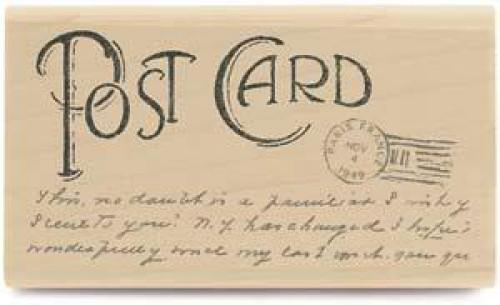Stempel Nostalgie Postkarte Post Card