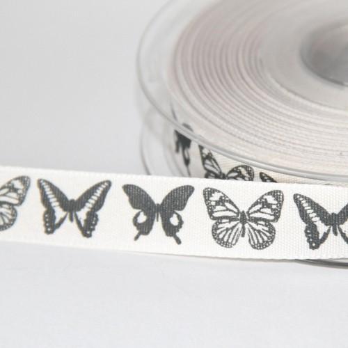 Schleifenband Butterfly Schmetterlinge vintage