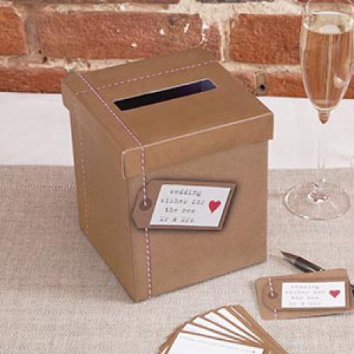 Postbox für Hochzeitswünsche