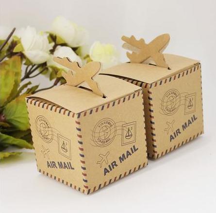 5 Schachteln Giveaways Favours Hochzeit Airmail